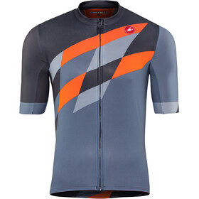 Castelli Tabularasa Maillot FZ Hombre, multicolor/blue/orange